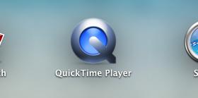 QuickTime ローンチ